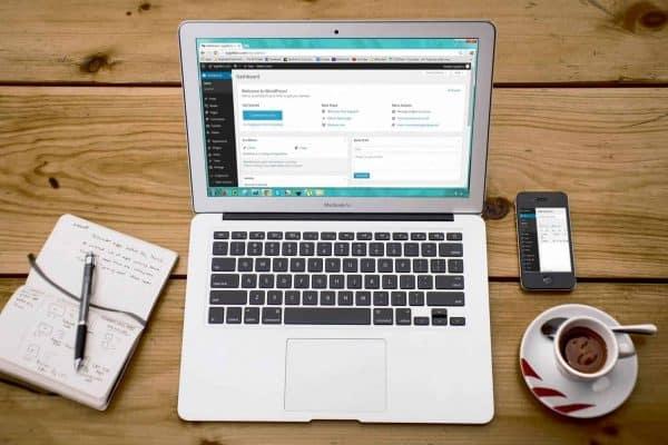 WordPress website music teacher