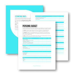 creating a personal budget worksheet music studio startup